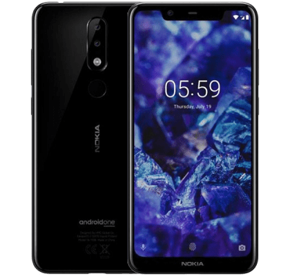Nokia 5.1 Plus EE Unltd Allowances for £36 (24m)