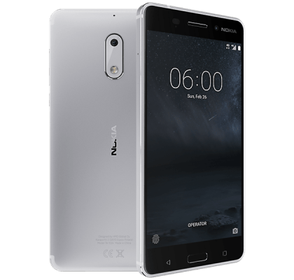 Nokia 6 Silver Guaranteed Cashback