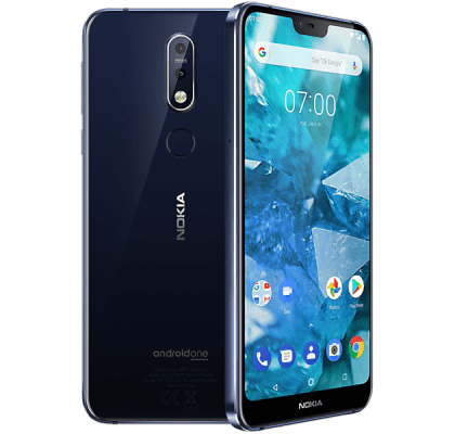 Nokia 7.1 Blue EE Upgrade Unltd Allowances for £20 (24m)