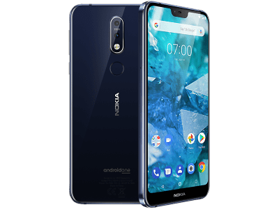 Nokia 7.1 contracts