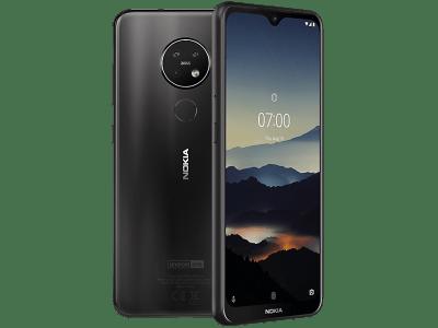 Nokia 7.2 contracts