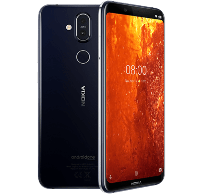 Nokia 8.1 EE Unltd Allowances for £43 (24m)