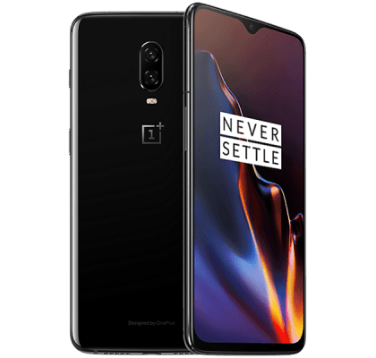 OnePlus 6T 128GB Mirror Black EE Upgrade Unltd Allowances for £38 (24m)