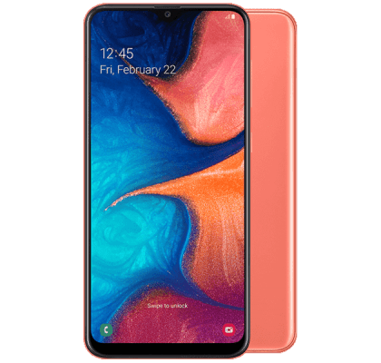 Samsung Galaxy A20e Coral EE 4G Contract