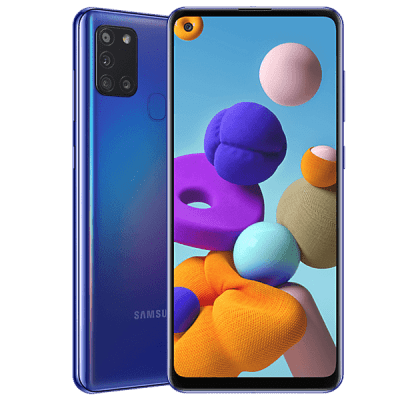 Samsung Galaxy A21s Blue Deals