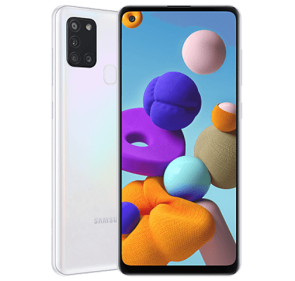 Samsung Galaxy A21s White 36 months contract