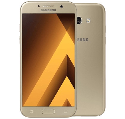 Samsung Galaxy A3 2017 Gold Sand Three Mobile Contract