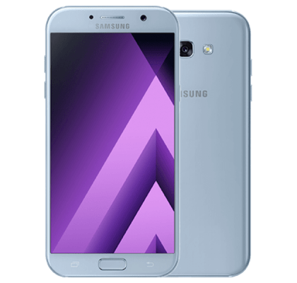 Samsung Galaxy A5 2017 Blue Mist Three Unltd mins & text with 8GB data for £26 (24m)