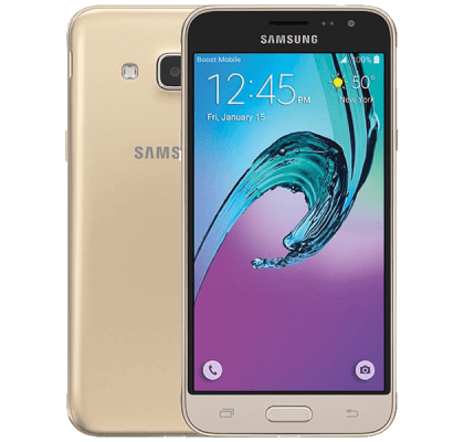 Samsung Galaxy J3 Gold Plusnet Mobile Contract