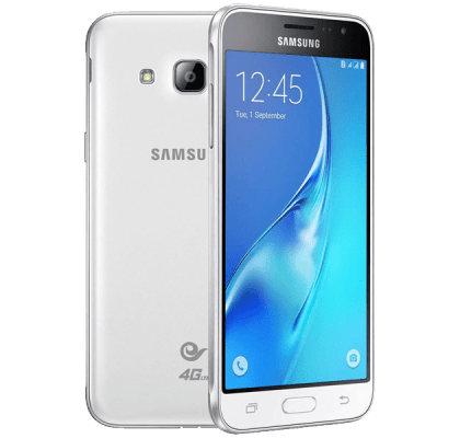 Samsung Galaxy J3 white iPad and Tablet