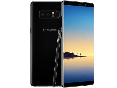 Samsung Galaxy Note 8 contracts