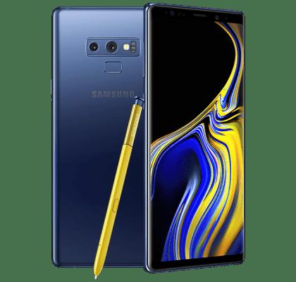 Samsung Galaxy Note 9 512GB Blue 24 months upgrade