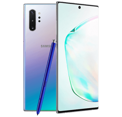 Samsung Galaxy Note10 Aura Glow EE Unltd Allowances for £23 (24m)