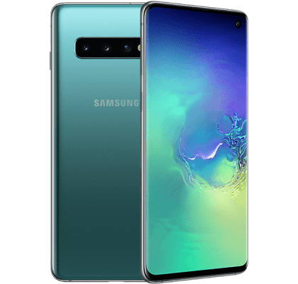 Samsung Galaxy S10 Green EE Unltd Allowances for £22 (24m)