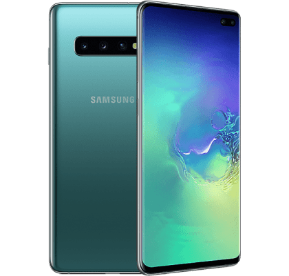 Samsung Galaxy S10 Plus Green Three Unltd Allowances for £36 (24m)