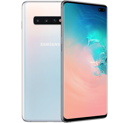 Samsung Galaxy S10 Plus White Three Mobile Contract