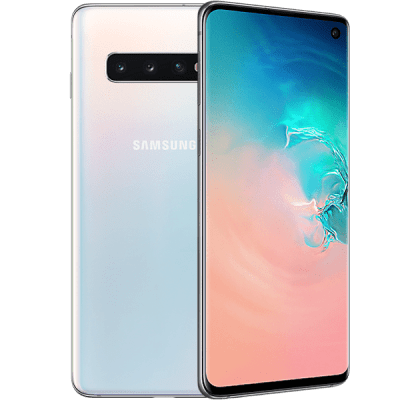 Samsung Galaxy S10 White Vodafone Unltd Allowances for £36 (24m)