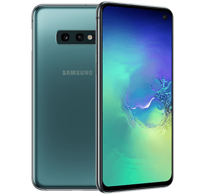 Samsung Galaxy S10e Green O2 Unltd Allowances for £0 (0m)