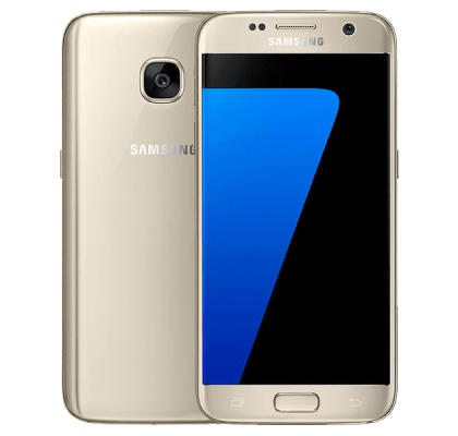 Samsung Galaxy S7 Gold O2 Mobile Contract