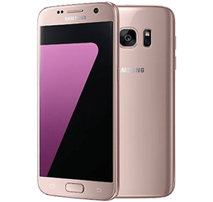 Samsung Galaxy S7 Pink Gold 12 months contract