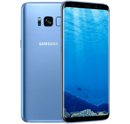 Samsung Galaxy S8 Blue Vodafone Mobile Contract