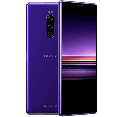 Sony Xperia 1 Purple EE Upgrade Unltd Allowances for £34 (24m)