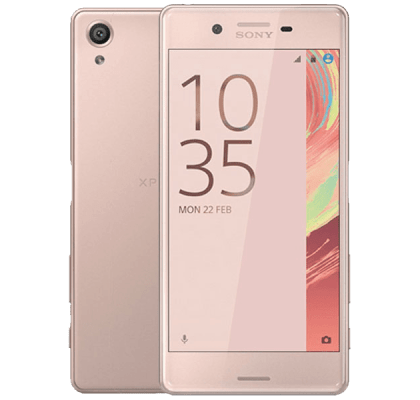 Sony Xperia X Rose Gold iD Mobile Contract