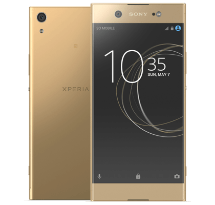 Sony Xperia XA1 Ultra Gold iPad and Tablet