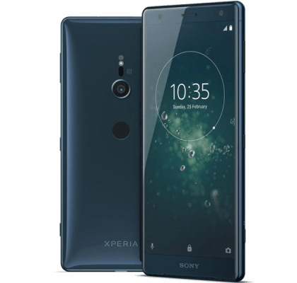 Sony Xperia XZ2 Blue Giff Gaff Contract