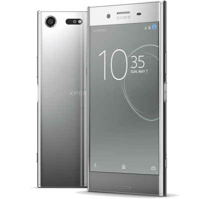 Sony Xperia XZ Premium Chrome O2 Mobile Contract