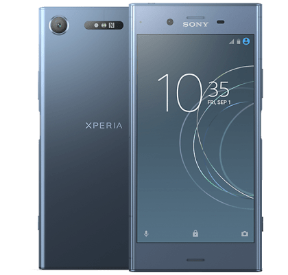 Sony Xperia XZ1 Blue Nintendo Switch Grey