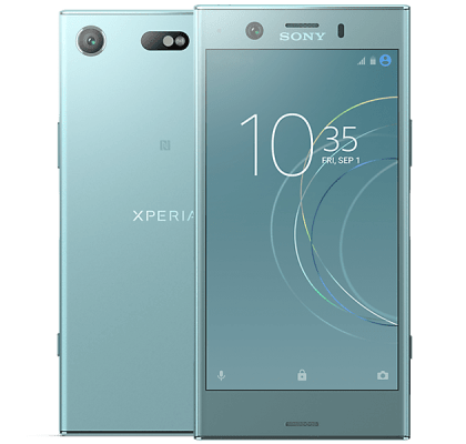 Sony Xperia XZ1 Compact Blue iPad and Tablet