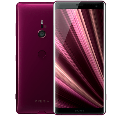 Sony Xperia XZ3 Red iPad and Tablet