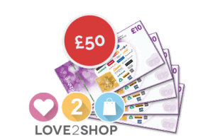 Love2Shop £50 Vouchers