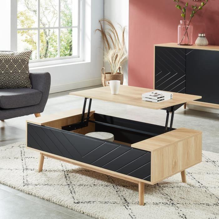 galia table basse avec plateau