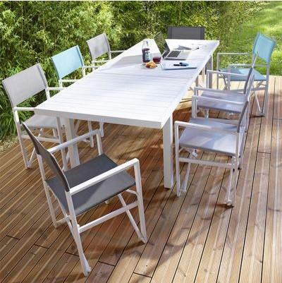 Table De Jardin Aluminium Castorama - On Log Wall