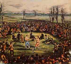 Painting of Boxing
