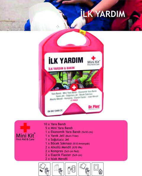 İlk Yardım Mini Kit® First Aid&Care