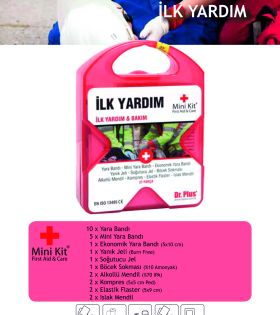 İlk Yardım Mini Kit® First Aid&Care