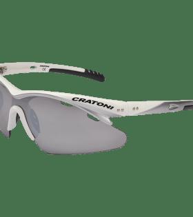 Cratoni Futuro Simplex Matt White Gözlük
