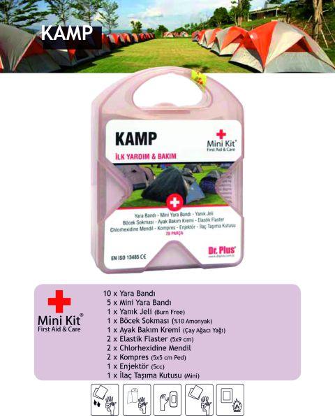 Kamp Mini Kit® First Aid&Care