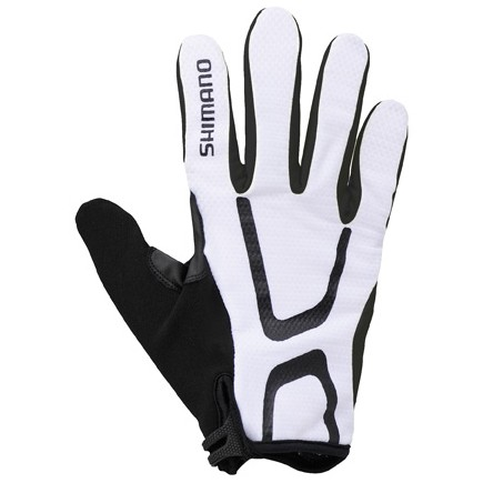 Shimano Long Gloves Light Uzun Eldiven Beyaz XL