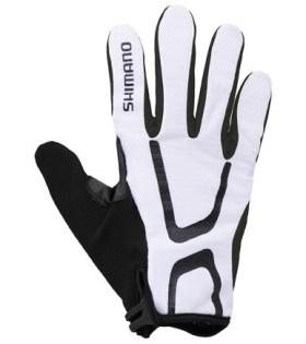 Shimano Long Gloves Light Uzun Eldiven Beyaz XL