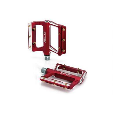 XLC Aluminium Flat Pedal Kırmızı