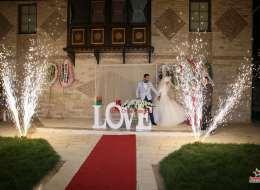 Düğün Organizasyonu Yer Volkanı Gösterisi İzmir Organizasyon