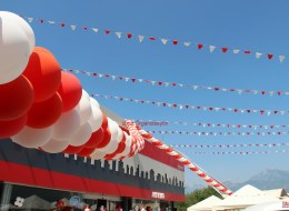 Üçgen Bayrak Süsleme İzmir