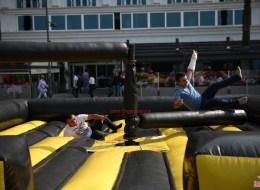 Wipe Out Şişme Oyun Parkuru Kiralama İzmir