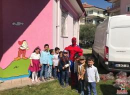 Spiderman Kostümlü Karakter Kiralama