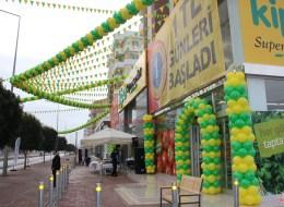 Kapı Takı Balon ve Dikme Balon Süsleme İzmir Açılış Organizasyonu