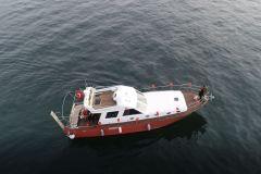 kafe baslangicli teknede evlilik teklifi organizasyonu izmir tekne kiralama 13 - Havai Fişek Eşliğinde Yatta Evlenme Teklifi Organizasyonu